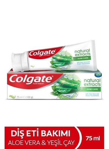 Colgate Colgate Natural Extracts Aloe Vera Ve  Çay Özlü Diş Eti Bakımı Diş Macunu 75 Ml Renksiz